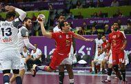 ثانى جولات مصر  كأس العالم لكرة اليد تخسر امام الدنمارك  الدنمارك  بفارق سبعة نقاط فى