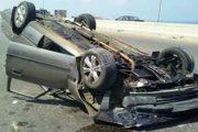 في حادث انقلاب سيارة جنوب الشلاتين مصرع ضابط واصابة مجندان