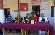 بالصور.إدارة بني سويف تستقبل العيد القومي للمحافظة بمهرجان العروض الرياضية ف مدرسة الفنية بنات.