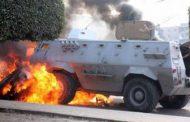اصابة 11 من قوات الأمن فى انفجار عبوة ناسفه بالشيخ زويد