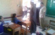 رئيس منطقة  الأقصر الأزهرية  يتفقد  امتحانات النقل الإبتدائي