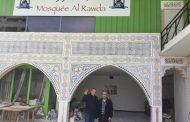 توافد المصريين لافتتاح مسجد الروضة في فرنسا