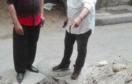 عاجل :إصلاح هبوط أرضي بشارع سيدي اسكندر باللبان الإسكندرية