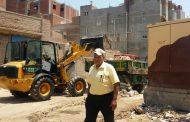حملة للنظافة والتجميل وتهذيب الاشجار على الطريق الرئيسي بمدخل مدينة الروضة