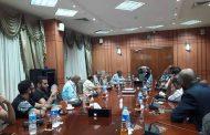 محافظ بورسعيد : يستجيب لطلبات هيئة مكتب سفراء السلام بمصر برئاسة السفيرة هدى عبد الله
