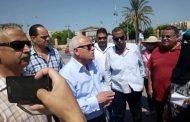 جولة تفقدية لمحافظ بورسعيد  لمتابعة سير العمل بمشروع إنشاء كوبري قناة الإتصال وتنفيذا لمطالب هيئة مكتب سفراء السلام بمصر فيما يتعلق بالحي الإماراتي