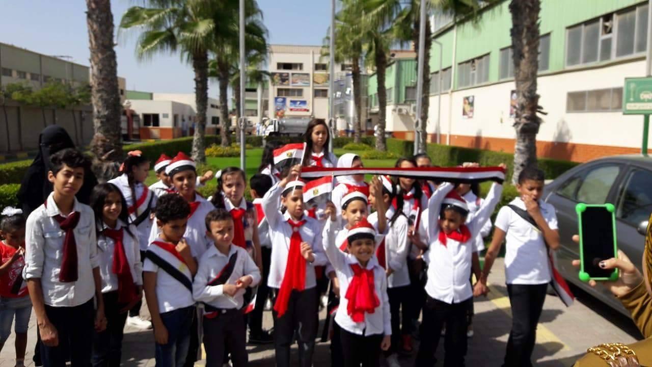 هيئة مكتب سفراء السلام بمصر تشارك محافظة بورسعيد إحتفالات أكتوبر