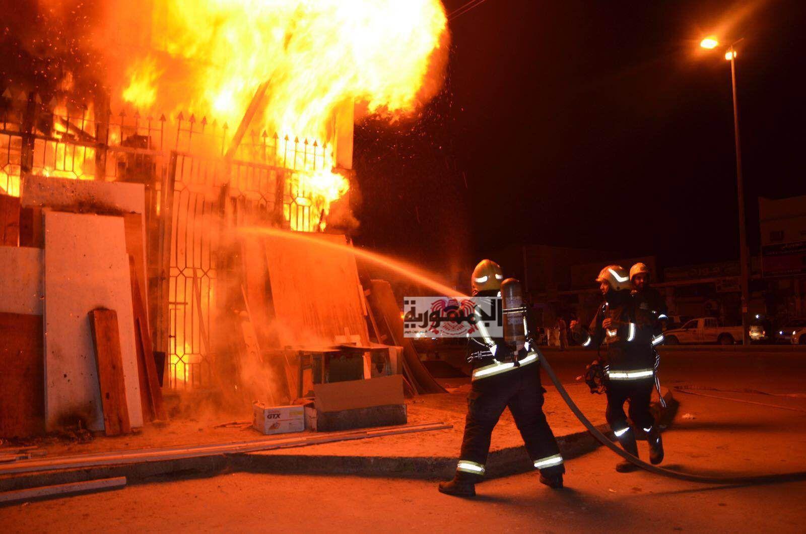 الحماية المدنية بالشرقية تسيطر على حريق بناحية عزبة كركور ابوكبير - شرقية