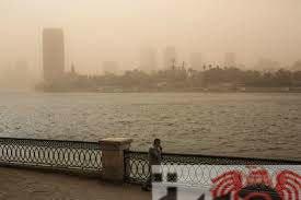 بيان بشأن تأثير العوامل الجوية الحالية على جودة الهواء
