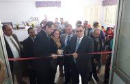 محافظ الفيوم يفتتح معرض المنتجات والمشغولات اليدوية بنادي المحافظة