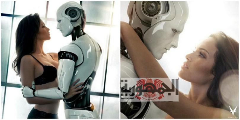"""قمة الشذوذ بالصور : أجنبيات يستبدلن الرجال بـ""""روبوت جنسي"""": """"يتفوق على الرجال في العلاقة الحميمة"""""""