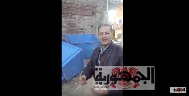 بالفيديو:السقا يكشف الفساد بجوار مبني محافظة دمياط
