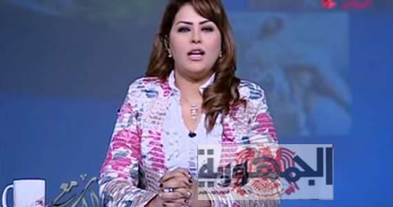 بالفيديو : مذيعة مصرية على قناة الحدث تُطالب بالقبض علي السيسي والتهمة .....