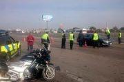 مصرع قائد سياره واصابه أخر أثر حادث سياره جمصه