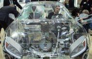 عاجل : الالمان  يصنعون سياره شفافه ترى كل ما بداخلها