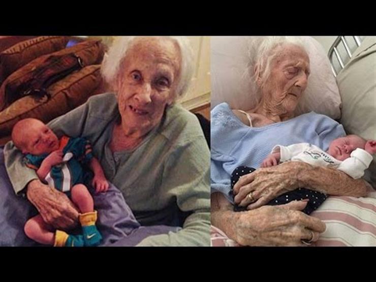 شاهد بالفيديو- معمرة عمرها 100 سنة تضع طفلها الـ17