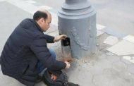 أعمال صيانة وإصلاح الكهرباء الإضاءة العامة بنطاق المنتزه ثان
