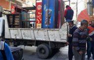 مطاردة الباعة الجائلين حي المنتزة اول بالأسكندرية