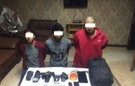 القبض علي تشكيل عصابي لسرقة المواطنيين بالعاشر من رمضان بالشرقية