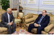 رئيس مجلس النواب يرحب بمحافظ سوهاج ويشيد بمجهوداته في العديد من الملفات الخدمية