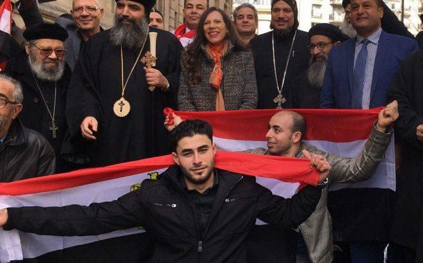 بالصورإقبال كبير للناخبين المصريين علي الانتخابات الرئاسية في باريس