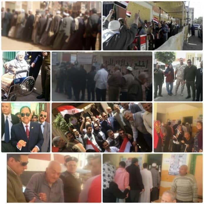 بالصور الانتخابات بمناطق وقري المحله الكبري والغربيه