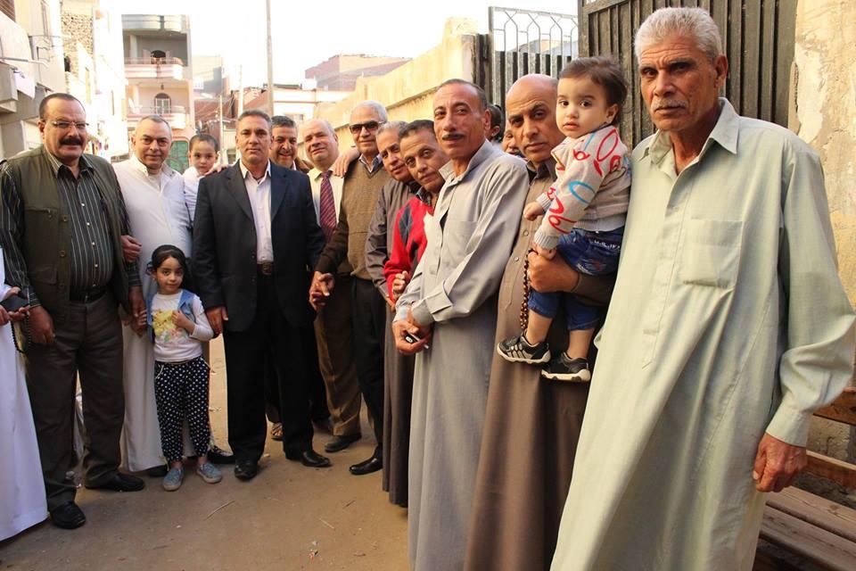 إقبال كبير على صناديق الإقتراع بقرية ميت طريف بالدقهلية  صور