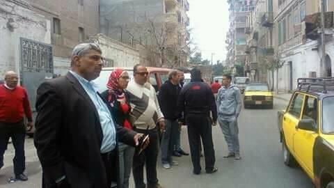 حمله مكبره اشغال الطريق ومراقب النظافه حي الجمرك
