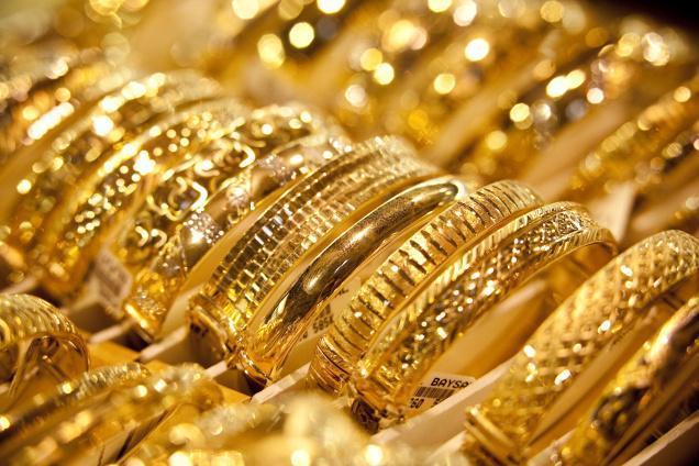 أسعار الذهب في السوق اليوم الأحد الموافق 1/4/2018..