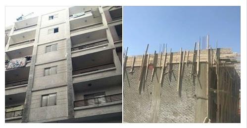 لجنة الازالة  للقضاء على ظاهرة البناء المخالف بحي شرق الاسكندرية
