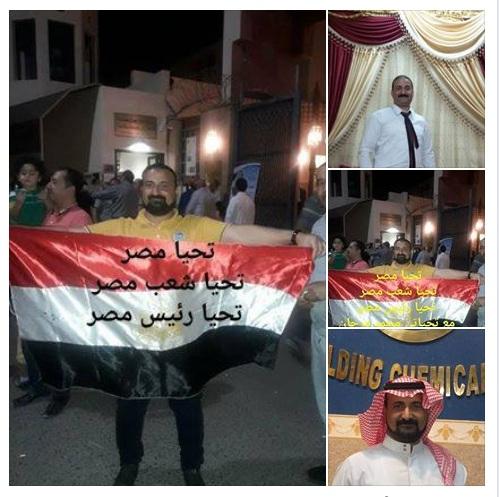 مواطن شرقاوي يعمل في السعودية يحشد عدد كبير من المصرين ويذهب بهم للسفارة المصرية للمشاركة والانتخاب
