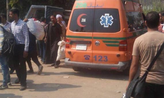 وفاة قائد سيارة  واصابة آخرين  بعد اصدامة بمقطورة امام قرية العباسة ابوحماد - شرقية