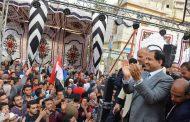 محافظ الغربية يشارك الغرباوية فى الإحتفال بفوز الرئيس السيسى فى الإنتخابات الرئاسية