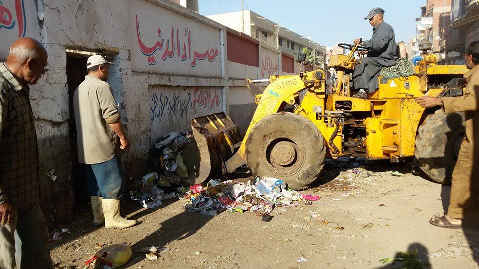 حملة نظافة بقرية ابوصير سمنود- غربية