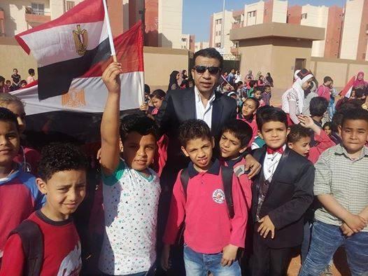 بالصور ...مدرسة الشهيد علاء الدين عبداللطيف بالعاشر من رمضان تحتفل بيوم الشهيد