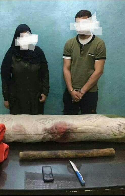 شيطانه تتفق مع عشيقها على قتل زوجها لممارسة الرزبلة بمشتول السوق - شرقية