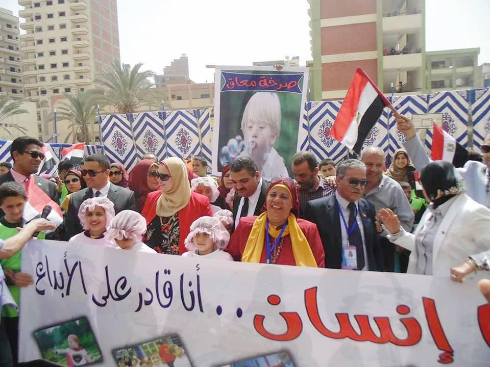 بالصور : ختام رائع لمهرجان ختام الانشطة بأدارة غرب المحلة التعليمية