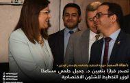 د. جميل حلمى مساعدا لوزير التخطيط والمتابعة والإصلاح الادارى