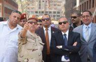 سلطان وقائد المنطقة الشمالية العسكرية بالأسكندرية يتفقدان مشروع بشائر الخير ٢
