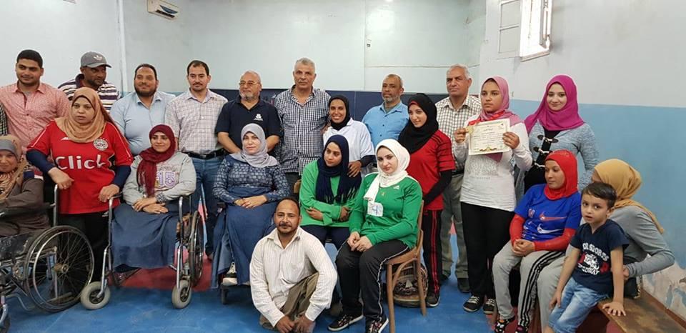 بالصور.. نادي أهلي فاقوس بالشرقية يحصد الميدلية الذهبية لمتحدي الإعاقة