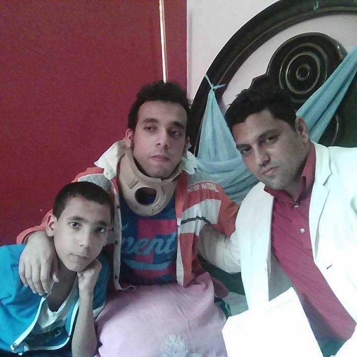 لأصحاب القلوب الرحيمة ...العربى محمد '' يحتاج لإجراء عمليةجراحية سريعة بألمانيا مركز ميونخ للعمود الفقرى
