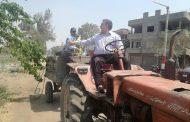استجابة فورية من رئيس الوحدة المحلية بقرية ميت طريف بالدقهلية   صور