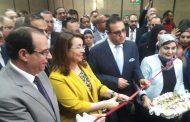 وزيرة التضامن الاجتماعي تفتتح وحدة علاج الإدمان بجامعة المنصورة
