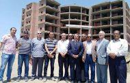 اللواء إسماعيل عتمان في زياره لمستشفى الكبد المصري ببلطيم
