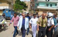 إستجابة لمطالبات المواطنين محافظ الاسماعيلية يتفقد الشوارع المحيطة بقسم شرطة ثان ويناقش مقترحات اعادة فتحها .