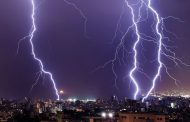 """عاجل.. الارصاد تؤكد: """"موجة من البرق والرعد والسيول ستضرب هذه المحافظات اليوم الأثنين"""""""