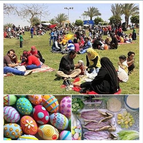 مصر تستعد لإستقبال شم النسيم وسط إحتفال الاقباط بأحد السعاف