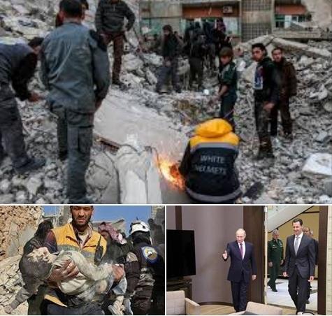 هروب بشار الآسد من الميدان بسبب خوفة من الضربات الأمريكية المتوقعة