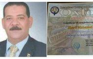 مدير إدارة غرب الإسكندرية التعليمية يحصل على الدكتوراة الفخرية من جامعة أكسفورد