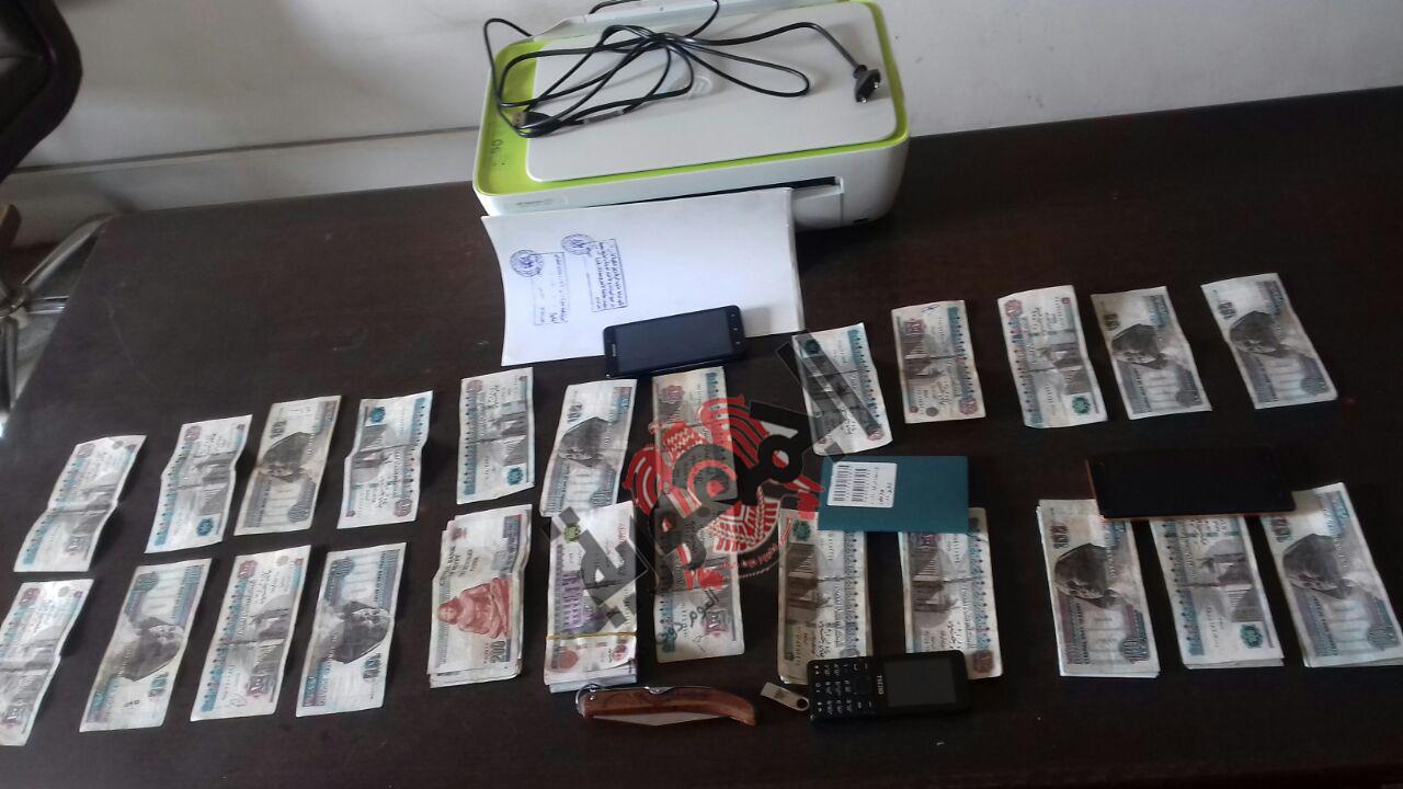 مباحث الاموال العامة تنجح في القبض على اكبر تشكيل عصابي تخصص في تزوير العملة الوطنية بمحافظة الشرقية